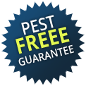 Pest free service guarantee